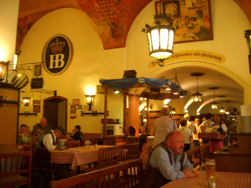 Inside Munichs most famous beer hall